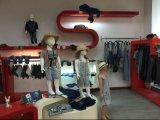Sprung-scherzt Onlineeinkaufen-Form-Art junge Mädchen-Gamaschen-Jeans