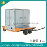 Lushun Zja Máquina Filtro de aceite de acero al carbono 95% de aceite de alta tasa de poner el aceite del transformador con el purificador de bajo precio