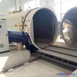 autoclave eléctrica del vidrio laminado de la calefacción de 3000X9000m m con alto rendimiento