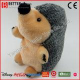 OEM 승진 연약한 박제 동물 Hedgehog 견면 벨벳 장난감