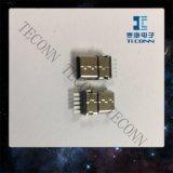 小型USB 5pinのタイププラグのコネクター