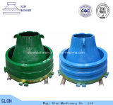 Zerkleinerungsmaschine-Teile von konkavem für Nordberg Metso G2215 Kegel-Zerkleinerungsmaschine