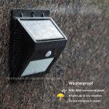 Im Freienbeleuchtung-Bewegungs-Fühler-Lampe 8 LED IP65 imprägniern Solargarten-Licht