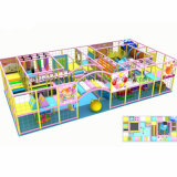 Equipamento interno do campo de jogos das crianças plásticas como por seu pedido
