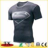 Подгонянная одевая рубашка спорта быстро Drying