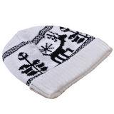 Шлем теплых Beanies зимы крышки женщин Mens Unisex связанный печатание толщиной (HW413)
