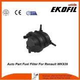 Filtro de combustible de la pieza de automóvil para Renault Wk939
