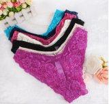 Дешевые сексуальные оптовые продажи Panty нижнего белья женщин шнурка (53048)