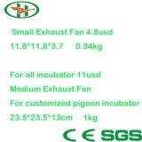 Fabrik angegebener Inucbator Absaugventilator automatischer Hatcher Absaugventilator