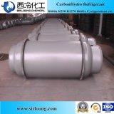Tipo gas refrigerante R404A de la refrigeración de los pequeños cilindros