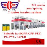 Stampatrice ad alta velocità di incisione della pellicola del PVC BOPP del calcolatore