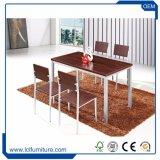 Комплекты обедая таблицы и стула самого последнего напольного сада предкрылков мебели WPC алюминиевого