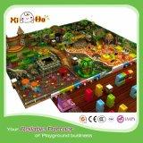 Jungle d'intérieur de matériel de cour de jeu d'enfants
