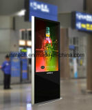 Innendefinition-Touch Screen LCD-Bildschirmanzeige der Ad/Ads/Advertizing Media-42/49inches hohe