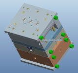 泥、DmeのHascoの標準プラスチック鋳型の設計3Dのデッサンサービス