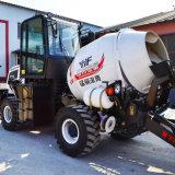 Petite hydraulique mobile de mélangeur de béton auto Chargement camion