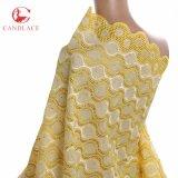Diseños de la gasa de la alta calidad nuevos de la tela suiza africana del cordón en Candlace