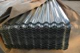 Wellen-Zink-überzogene Stahlblechegewölbte Gi-Dach-Fliese für Kolumbien