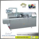 自動磨き粉システム水平のタックのCartonerの紙箱のパッキングカートンに入れる機械