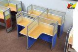 4人のための熱い営業所の家具ワークステーション
