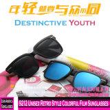 9212 estilo retro unissexo películas coloridas óculos de sol