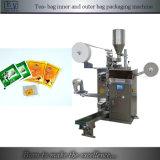 Empaquetadora automática del bolso de té de la máquina con el bolso externo