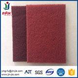 Tampons à récurer de nylon abrasif industriel pour le bois et métal