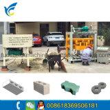 Pequeno Manual40-2 Qt Cabro Bloquear a máquina/Preço máquina de tijolos sólidos de concreto