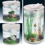 Bureau, hôtel, réservoir de poissons acrylique de contre- aquarium de barre