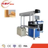 Máquina de grabado del laser de Rofin del CO2 para el dril de algodón de acrílico de madera