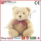 Urso macio da peluche do luxuoso dos brinquedos do animal enchido para o presente da promoção
