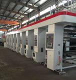 7 8 el color de alta velocidad del motor de impresión en rotograbado máquina con 150m/min.