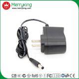 De enige AC gelijkstroom van de Output 9V 1A Adapter van de Macht