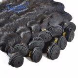 Unproccessed плетение волос Virgin Реми бразильского волосы добавочный номер