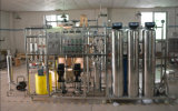 Pequeña instalación de tratamiento pura del agua potable del RO en precio del acero inoxidable