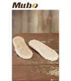 Inserti puramente Handmade dei sottopiedi del pattino della pelle di pecora