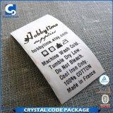 Etiquetas Superfine de pouco peso das etiquetas do algodão da roupa