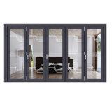 Portello scorrevole di stile di alta qualità di alluminio americana del blocco per grafici