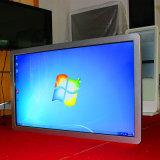 plein HD totem d'écran tactile du PC 42inch du réseau WiFi fixé au mur