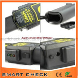 Детектор металла супер обеспеченностью блока развертки Handheld с сигналом тревоги и вибрацией