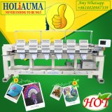 Holiauma 모자 관 편평한 자수 기계 6 헤드 15 바늘 Ho1506를 위한 행복한 사업 자수 기계