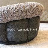 نمط كلب سرير محبوب منتوج محبوب سرير مستديرة صغيرة كلب سرير أريكة وسادة