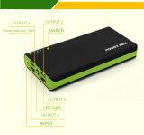 Le meilleur chargeur mobile portatif de vente de côté de pouvoir de 15000 heures-milliampère