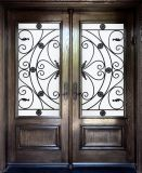 美デザインScrollworkの錬鉄のドア