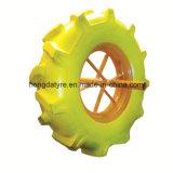 16 Rad PU-Gummireifen des Zoll-Farbe PU-Rad-4.00-8 flacher freier