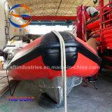 6.4 Bateaux gonflables de côte de Hypalon de mètres fabriqués en Chine