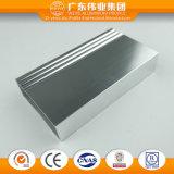 6061 6063 perfiles de aluminio de la protuberancia para la ventana de aluminio/la puerta, uso de la pared de cortina