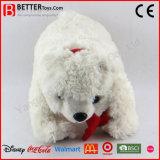 Vulde het Zachte Stuk speelgoed van de Knuffel ASTM de Pluche van de Ijsbeer voor Jonge geitjes/Kinderen