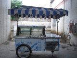 Casos de visualización del helado/carro italiano del helado