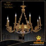 Eleganter antiker dekorativer Fassbinder-Messingwand-Leuchter-Lampe (TB-0900-2)